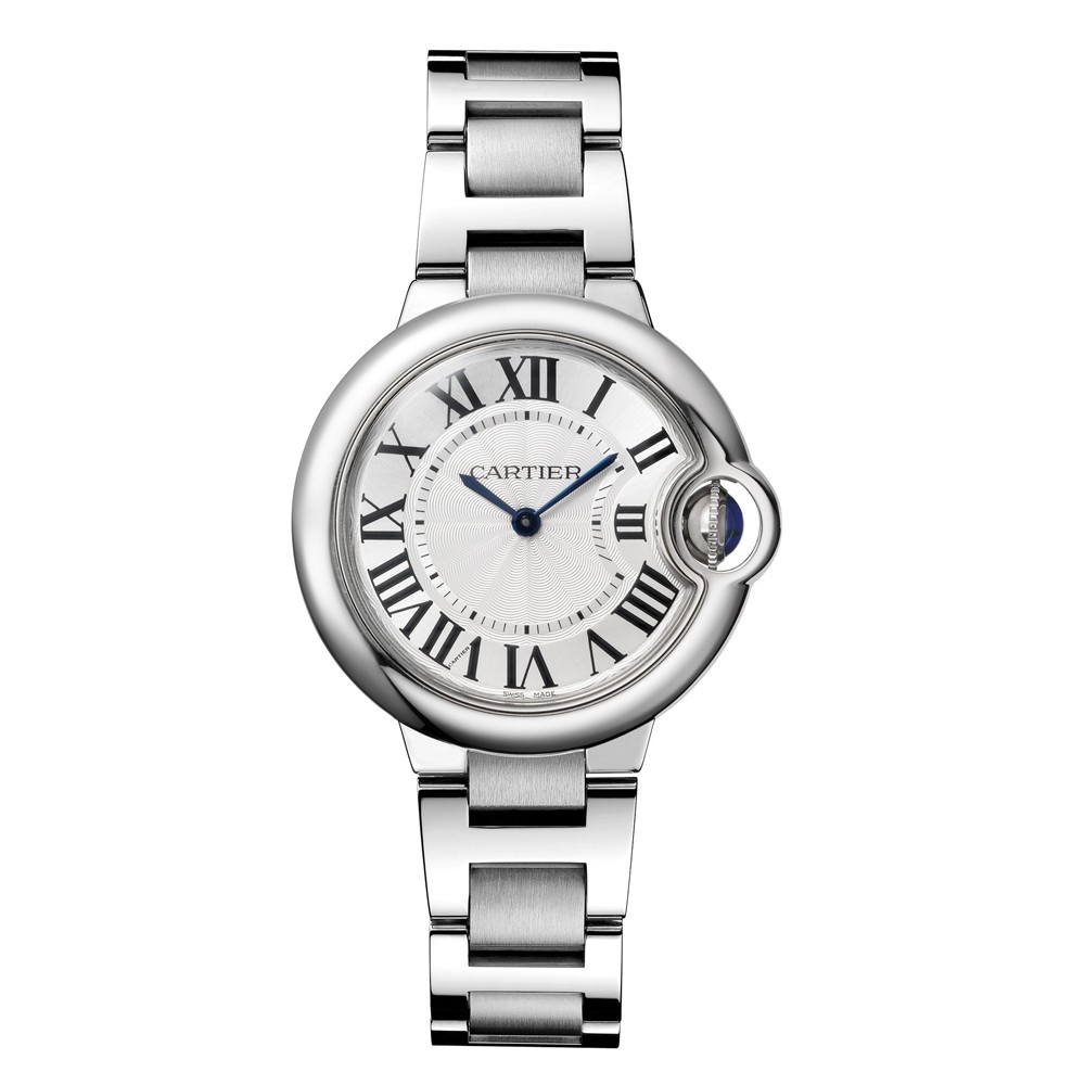 d2124f70da9d4 Cartier Watches - Ballon Bleu 33mm - Stainless Steel - Cartier ...