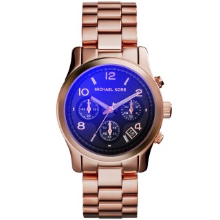 Runway Flash Lens Rose Gold Tone Watch