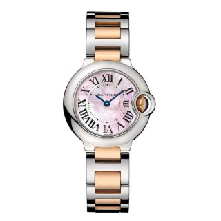 Cartier Watches - Ballon Bleu 28mm - Steel and Pink Gold