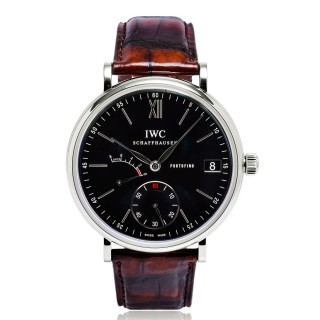 IWC Watches - Portofino Hand-Wound Eight Days - Stainless Steel