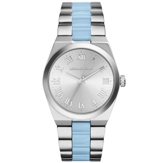 Channing Silver Tone Acetate Watch